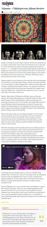 Folk N'Rock (USA), 29.3.2021