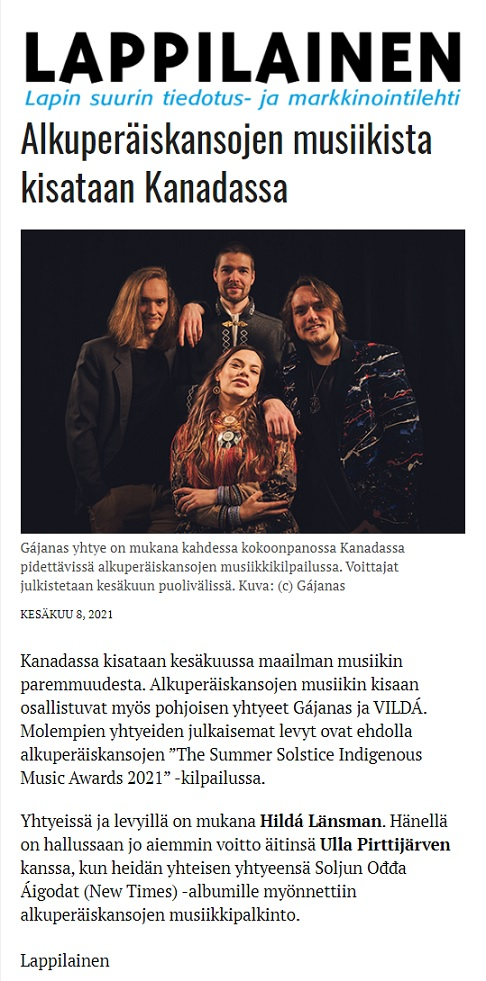 Lappilainen (Finland), 8.6.2021