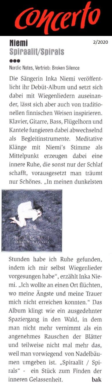 Concerto-Magazin (Austria), 2/2020