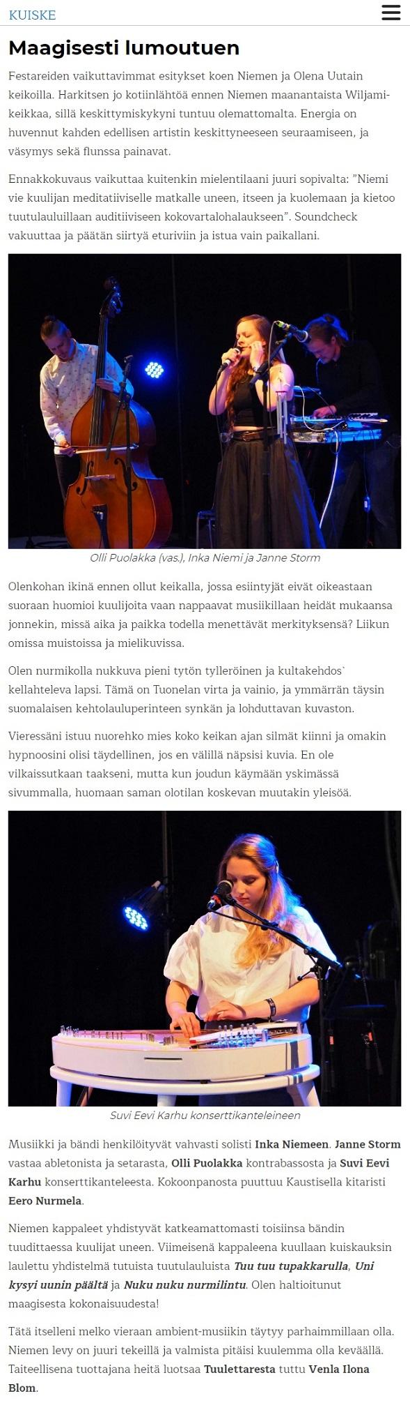 Kuiske (Finland), 29.7.2019