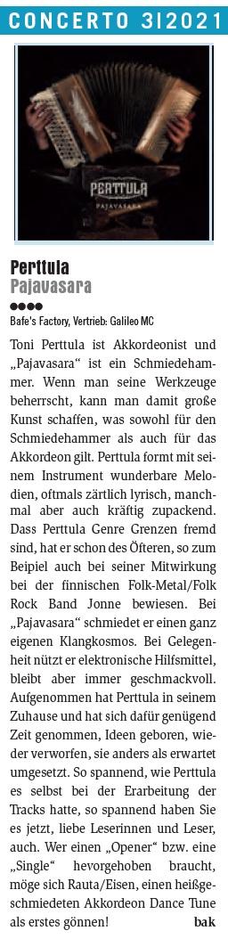 Concerto Magazin 3/2021 (Austria), 1.6.2021