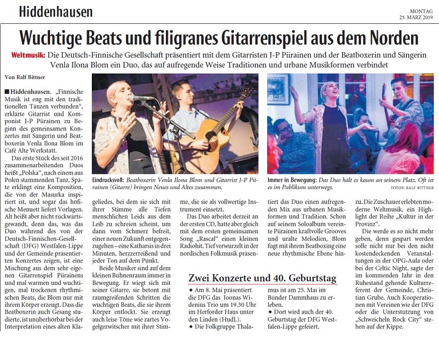Hiddenhausen (Germany), 25.3.2019