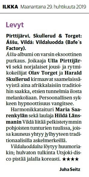 Ilkka (Finland), 29.4.2019