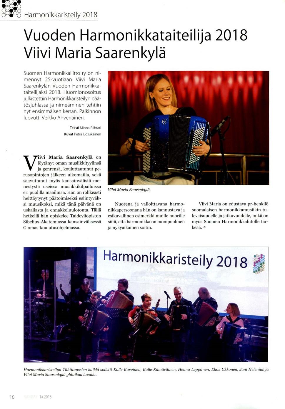 Hanuri-lehti (Finland), 2018/2