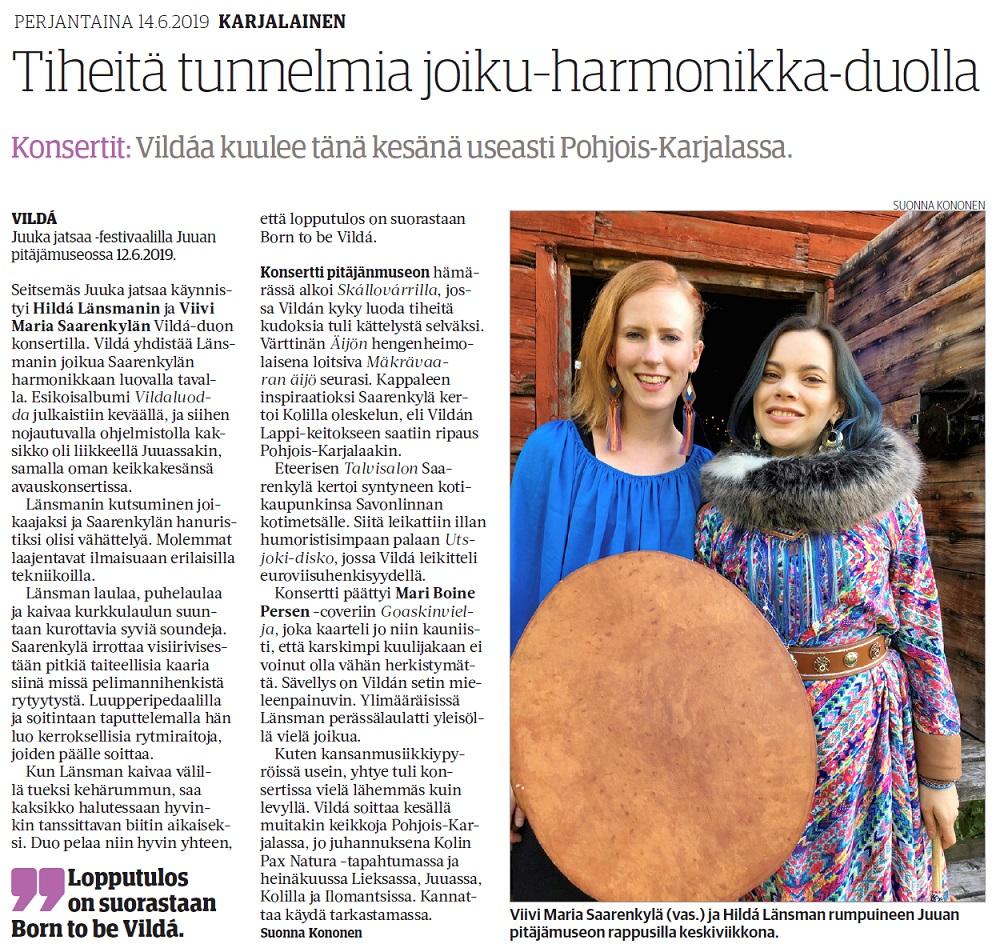 Karjalainen (Finland), 14.6.2019
