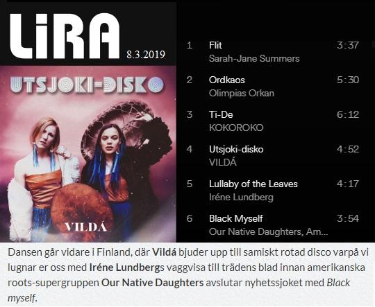 Lira Musikmagasin (Sweden), 8.3.2019